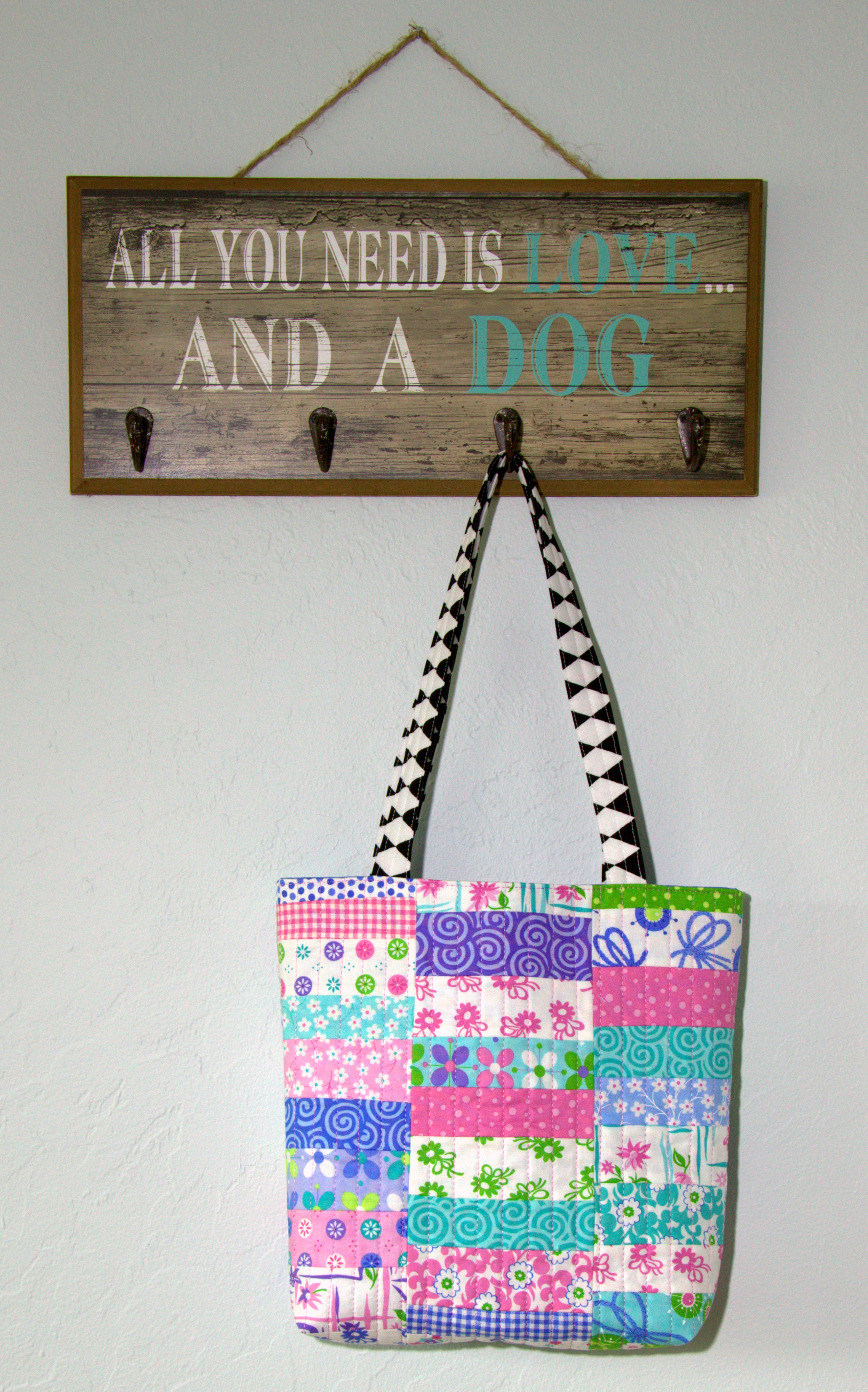Example image of Flower Stack Tote Bag